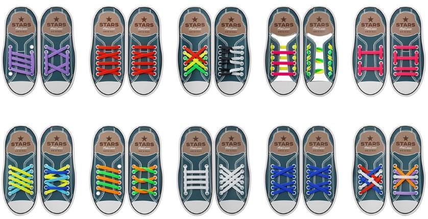 AntiLaces - силиконовые шнурки. Способы шнуровки. 9a469b7d0563c