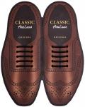 Classic Черные АнтиШнурки 5+5 (10шт. комплект) 30мм