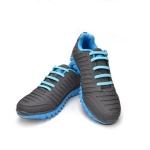 Голубые АнтиШнурки 6+6 (12 шт комплект)