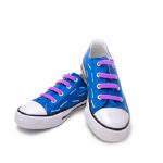 Фиолетовые АнтиШнурки 6+6 (12 шт комплект)