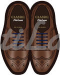 Cиликоновые шнурки (АнтиШнурки) для классических туфель, 10шт. (длина: 30мм)