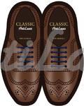 Силиконовые шнурки (АнтиШнурки) для классических туфель, 10шт. (длина: 40мм)